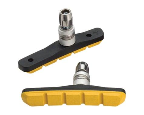 Jagwire Mountain Sport V-Brake Pads (Yellow) (1 Pair)