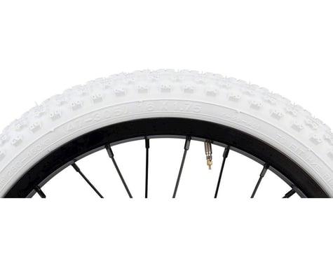 "Kenda K50 BMX Tire (White) (1.75"") (16"" / 305 ISO)"