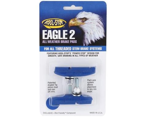 Kool Stop Eagle 2 Brake Pads (Blue) (1 Pair)