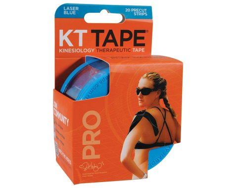KT Tape Pro Kinesiology Therapeutic Body Tape (Blue) (20 Strips/Roll)