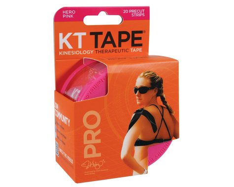 KT Tape Pro Kinesiology Therapeutic Body Tape (Pink) (20 Strips/Roll)