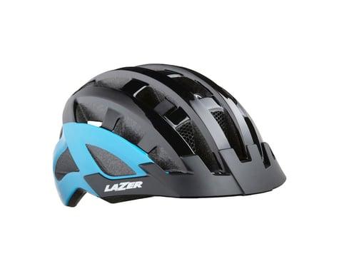 Lazer Compact DLX Helmet (Black/Blue) (Universal Adult)