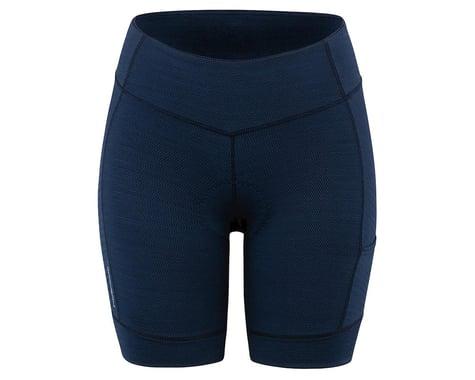 Louis Garneau Women's Fit Sensor Texture 7.5 Shorts (Dark Night) (S)