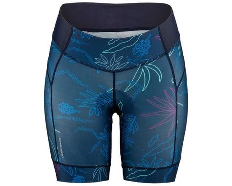 Louis Garneau Women's Neo Power Art Motion 7 Shorts (Blue Flow) (S)