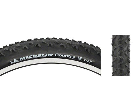 """Michelin Country Trail Mountain Tire (Black) (2.0"""") (26"""" / 559 ISO)"""
