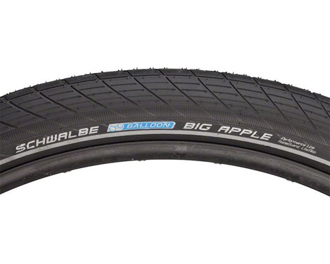 "Schwalbe Big Apple Tire (Black) (2.35"") (29"" / 622 ISO)"