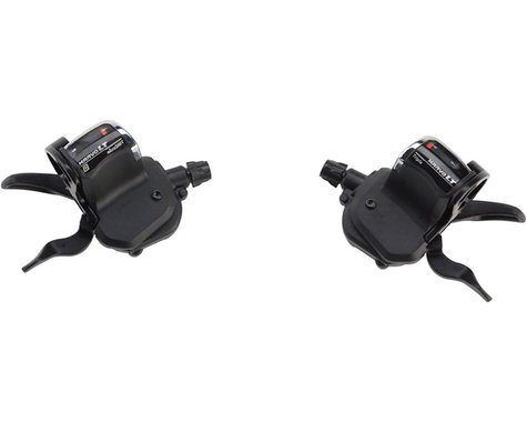 Microshift M759 MarvoLT Trigger Shifters (Black) (Pair) (2/3 x 9 Speed)