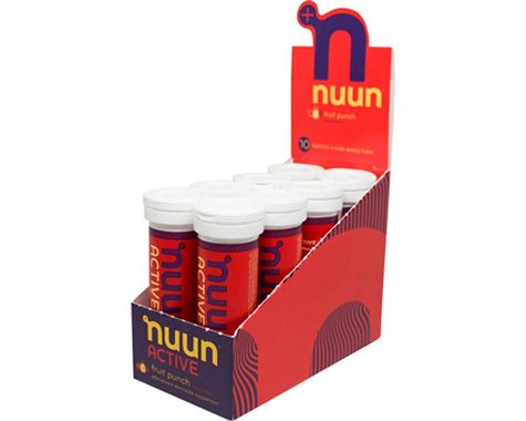 Nuun Sport Hydration Tablets (Fruit Punch) (8 Tubes)
