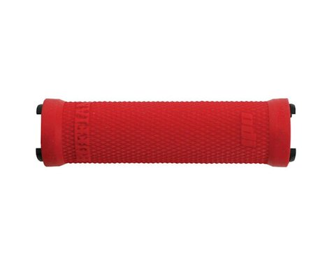 ODI Ruffian Lock-On Grips Only (Red) (130mm) (No Clamps)