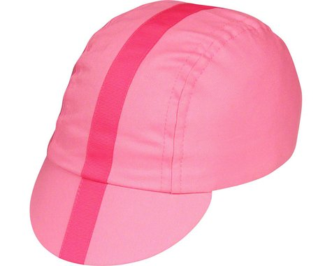 Pace Sportswear Classic Cycling Cap (Pink w/ Pink Tape) (M/L)