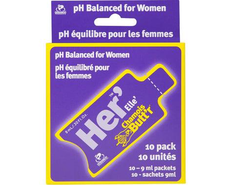 Chamois Butt'r Her' Chamois Cream (Women's) (10 Pack) (Packet) (0.3oz)