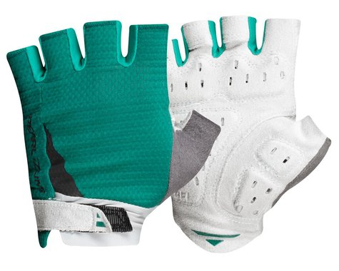 Pearl Izumi Women's Elite Gel Short Finger Gloves (Alpine Green) (XL)