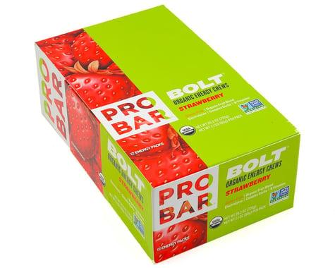 Probar Bolt Organic Energy Chews (Strawberry) (12   2.1oz Packets)