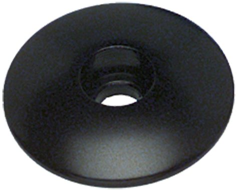 """Problem Solvers Top Cap for Alloy/Chromoly Steerers (Black) (1-1/8"""")"""