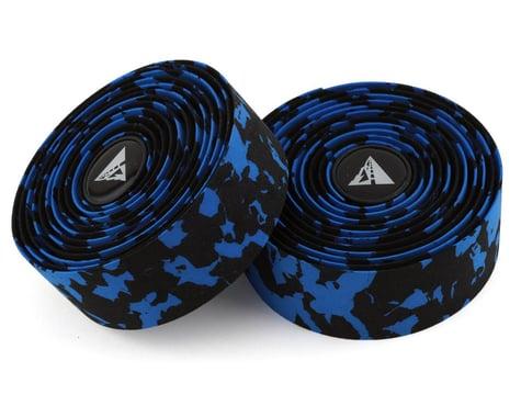 Profile Design Cork Wrap Handlebar Tape (Black/Blue Splash)