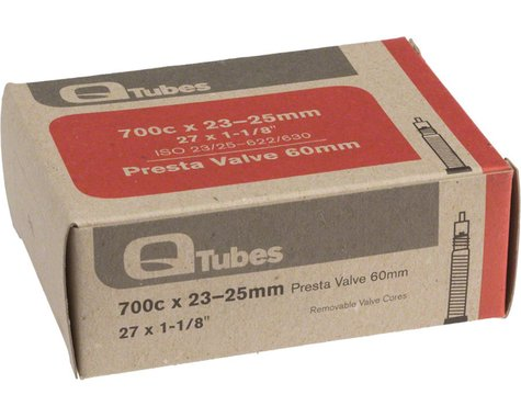 Q-Tubes 700c Inner Tube (Presta) (23 - 25mm) (60mm)