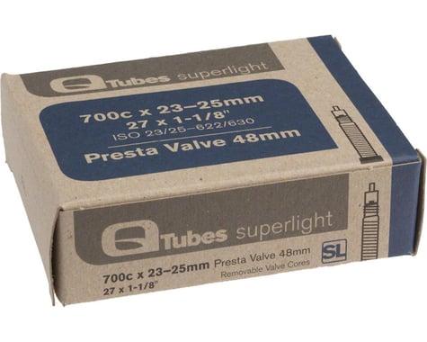 Q-Tubes Superlight 700c Inner Tube (Presta) (23 - 25mm) (48mm)