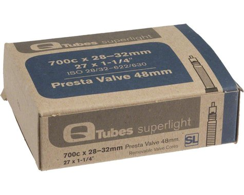 Q-Tubes Superlight 700c Inner Tube (Presta) (28 - 32mm) (48mm)