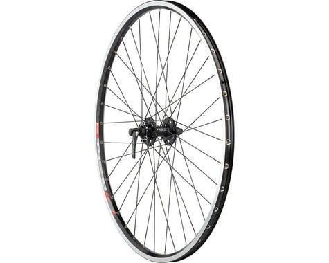 Quality Wheels XT/TK540 Rim/Disc Front Wheel (Black) (QR x 100mm) (700c / 622 ISO)