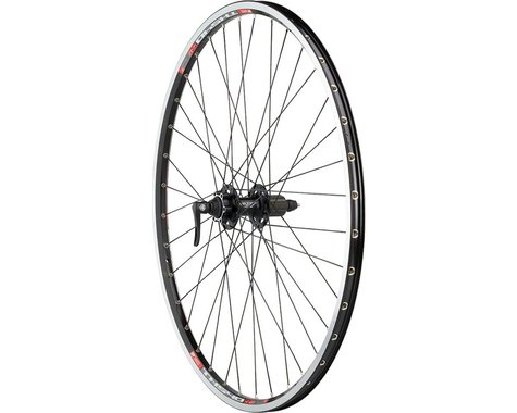 Quality Wheels XT/TK540 Rim/Disc Rear Wheel (Black) (Shimano/SRAM) (QR x 135mm) (700c / 622 ISO)