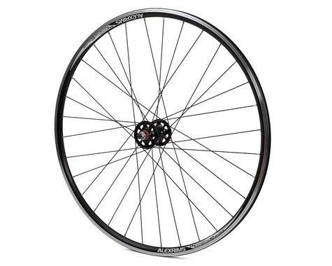 Quality Wheels Track Double Wall Front Wheel (Black) (9 x 100mm) (700c / 622 ISO)