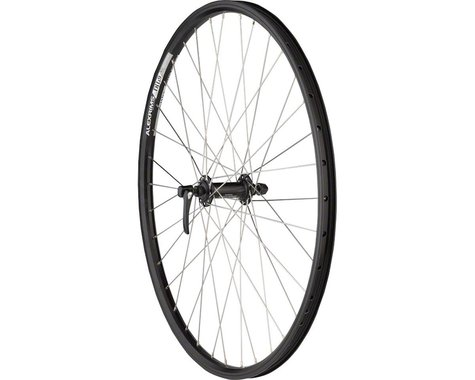 """Quality Wheels Deore/DH19 Mountain Front Wheel (Black) (QR x 100mm) (26"""" / 559 ISO)"""
