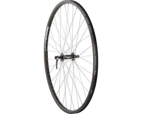 Quality Wheels Deore/DH19 Front Wheel (Black) (QR x 100mm) (700c / 622 ISO)