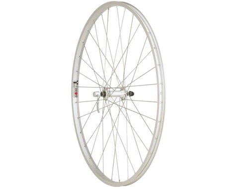 Quality Wheels Value Series Front Wheel (Silver) (700c) (Formula/Alex Y200) (QR x 100mm) (700c / 622 ISO)