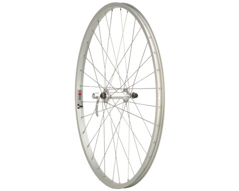 """Quality Wheels Value Single Wall Series Front Wheel (Silver) (QR x 100mm) (26"""" / 559 ISO)"""