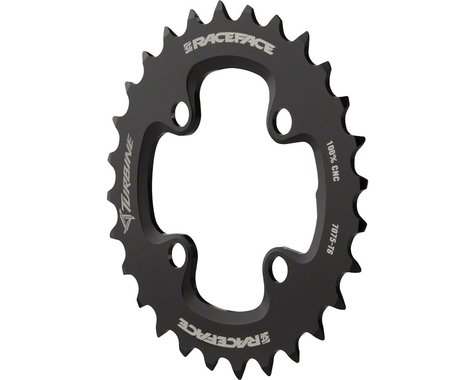 Race Face Turbine 11 Speed Chainring (Black) (64mm BCD) (Offset N/A) (28T)