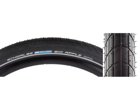 "Schwalbe Big Apple Tire (Black) (2.15"") (20"" / 406 ISO)"