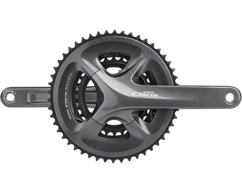 Shimano Claris FC-R2030 Crankset (Black) (3 x 8 Speed) (Hollowtech II) (170mm) (50/39/30T)