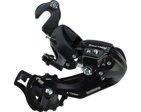 Shimano Tourney RD-TY300 Rear Derailleur (Black) (6/7 Speed) (Track/BMX Hanger) (Long Cage)