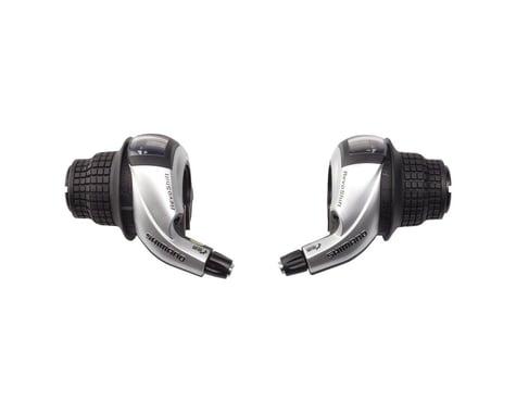 Shimano Tourney SL-RS45 Twist Shifters (Black) (Pair) (3 x 8 Speed)