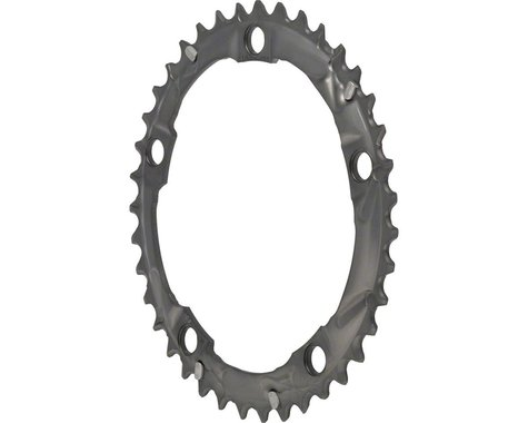Shimano 105 5703-S Triple Middle Chainring (Silver) (130mm BCD) (Offset N/A) (39T)
