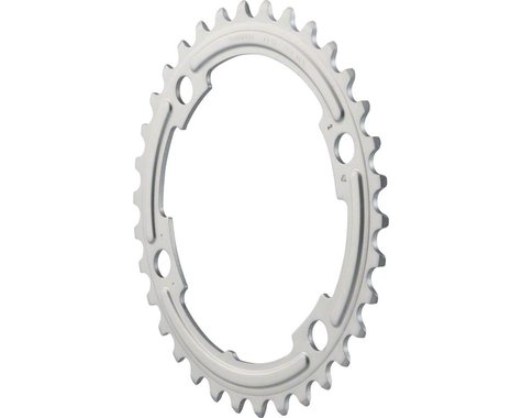 Shimano 105 5800-S Chainring (Silver) (110mm BCD) (Offset N/A) (34T)