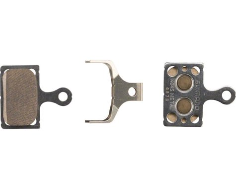 Shimano K04S Disc Brake Pads (For Flat Mount BR-RS805, BR-RS505) (Metal)