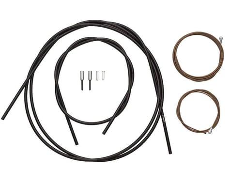 Shimano Dura-Ace Road Brake Cable Kit (Black) (Polymer) (1000/2050mm) (2)