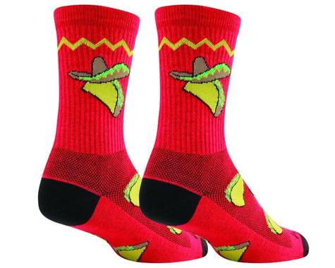 "Sockguy 6"" Socks (Taco Tuesday) (S/M)"
