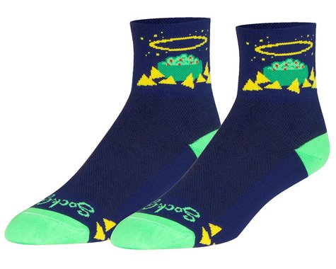 "Sockguy 3"" Socks (Holy Guac) (L/XL)"