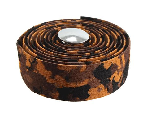 Soma Thick and Zesty Striated Bar Tape (Brown/Camo)