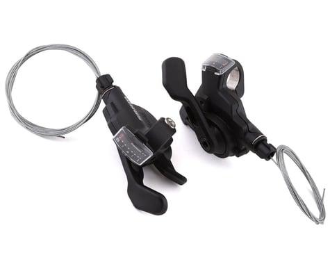 SRAM X4 Trigger Shifters (Black) (Pair) (3 x 8 Speed)