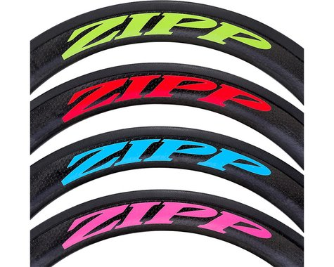 SRAM Decal Set (Disc/808 Matte Pink Logo) (Complete for One Wheel)