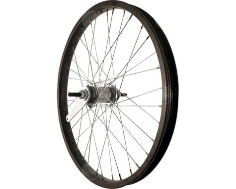 """Sta-Tru Rear Wheel (Black) (20"""") (Coaster Brake) (36 Spokes) (Steel Rim) (Bolt-On Axle)"""