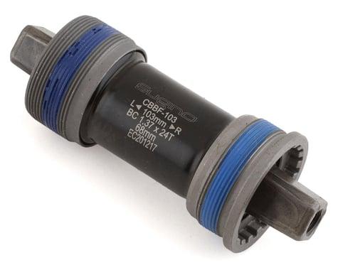 Sugino English Square Taper Cartridge Bottom Bracket (Silver) (BSA) (68mm) (103mm)