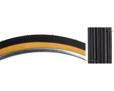 "Sunlite 26"" Recreational Tire (Black/Gum) (1-3/8"") (26"" / 597 ISO)"