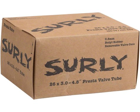"Surly Plus 26"" Fat Bike Inner Tube (Presta) (3.0 - 4.8"")"