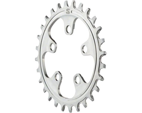 Surly Narrow Wide X-Sync Stainless Steel Chainring (Silver) (58mm BCD) (Offset N/A) (28T)