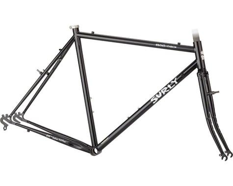Surly Cross Check Frameset (Gloss Black) (60cm)