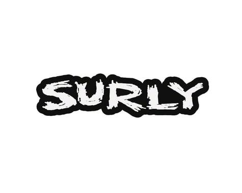 """Surly Logo Sticker (12 x 2.73"""")"""